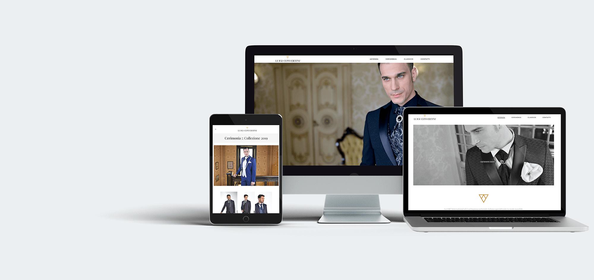 web design Luigi Convertini