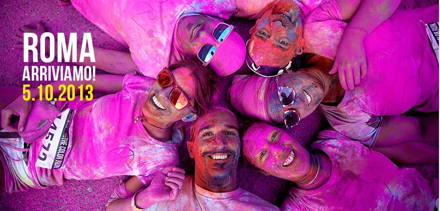 immagine Color Run Roma